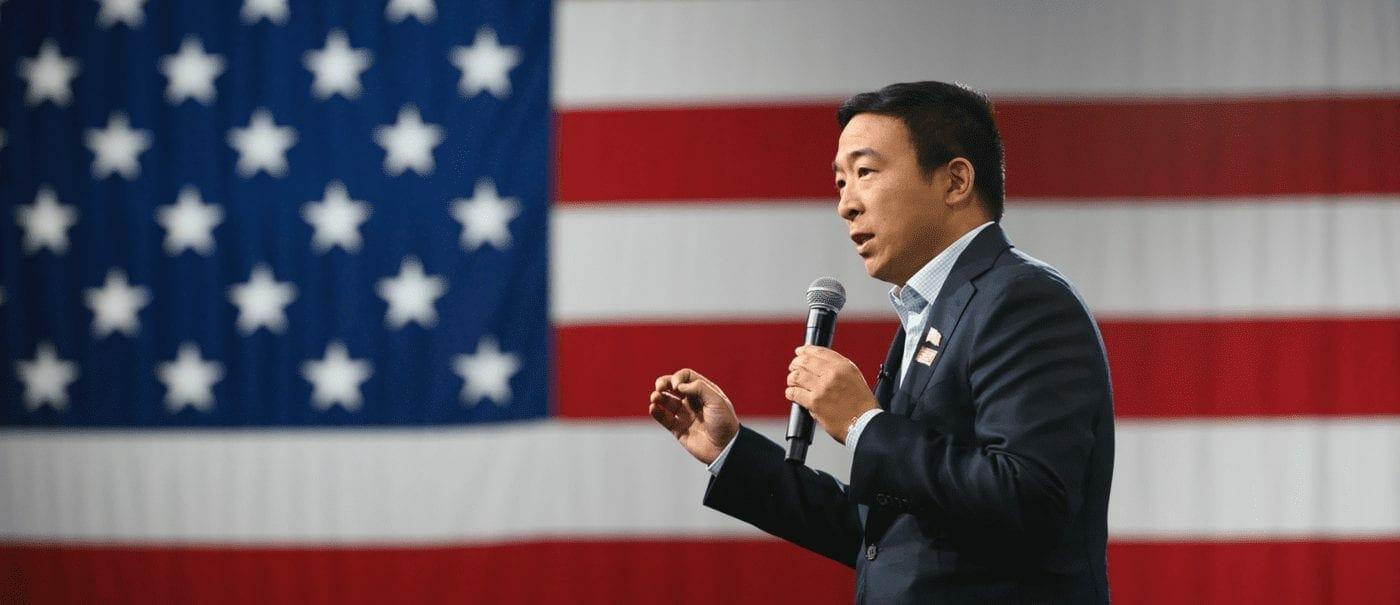 Andrew Yang Speaks at Kenzie Academy