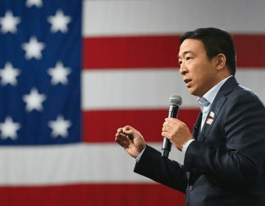 <Andrew Yang Speaks at Kenzie Academy